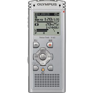 ICレコーダー Voice-Trek(ボイストレック) V-65-SLV シルバー