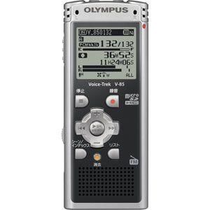 リニアPCM対応!ICレコーダー Voice-Trek(ボイストレック) V-85-BLK ブラック