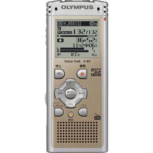 リニアPCM対応!ICレコーダー Voice-Trek(ボイストレック) V-85-GLD ゴールド