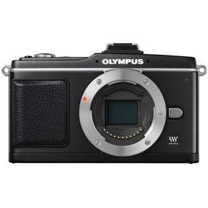 オリンパス デジタル一眼カメラ オリンパス ペン ボディ(ブラック) OLYMPUS PEN E-P2[ E-P2ボデイ(ブラツク) ]