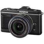 オリンパス デジタル一眼カメラ オリンパス ペン レンズキット(ブラック) OLYMPUS PEN E-P2[ E-P2レンズキツト(ブラツク) ]