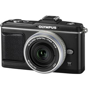 オリンパス デジタル一眼カメラ オリンパス ペン パンケーキキット(ブラック) OLYMPUS PEN E-P2[ E-P2パンケ-キキツト(ブラツク) ]