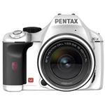 PENTAX デジタル一眼レフカメラ レンズキット(ホワイト) [ K-X-LK-WH ]