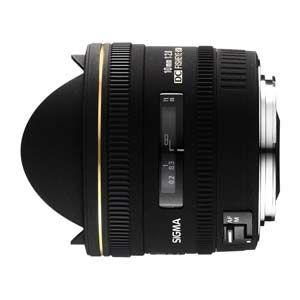 SIGMA 10mm F2.8 EX DC Fisheye HSM ニコンマウント 魚眼レンズ [ 10MMF2.8EX DC F/E-NA ]