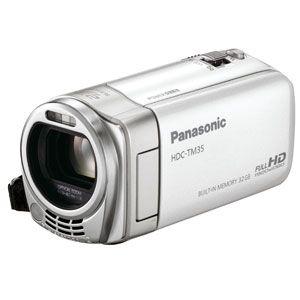 Panasonic 【新製品】SDメモリカード+32GB内蔵メモリ録画対応ハイビジョンビデオカメラ(ピュアホワイト) [ HDC-TM35-W ]