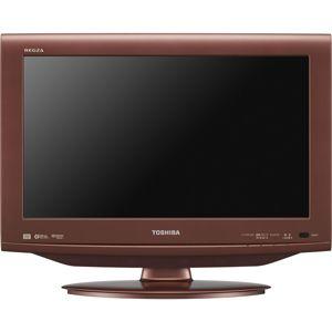 東芝 19V型地上・BS・110度CSデジタル ハイビジョン液晶テレビ カッパーローズ (500GB HDD内蔵 録画機能付) REGZA[ 19HE1-R ]