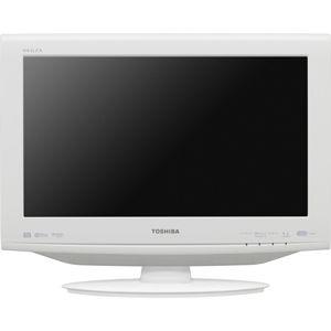 東芝 19V型地上・BS・110度CSデジタル ハイビジョン液晶テレビ ホワイト (500GB HDD内蔵 録画機能付) REGZA[ 19HE1-W ]