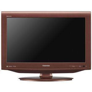 東芝 22V型地上・BS・110度CSデジタル ハイビジョン液晶テレビ カッパーローズ (500GB HDD内蔵 録画機能付) REGZA[ 22HE1-R ]