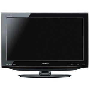 東芝 22V型地上・BS・110度CSデジタル ハイビジョン液晶テレビ ブラック (500GB HDD内蔵 録画機能付) REGZA[ 22HE1-K ]