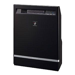 シャープ プラズマクラスターイオン発生機 SHARP 高濃度「プラズマクラスター25000」搭載(約12畳用 ブラック系)[ IG-B200-B ] - 拡大画像