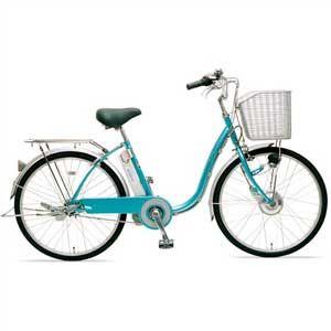 サンヨー 電動ハイブリッド自転車 24型 [ CY-SPF224-L ] - 拡大画像