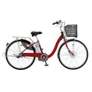 サンヨー 電動ハイブリッド自転車 26型 SANYO eneloop bike[ CY-SPA226A-R ] - 拡大画像