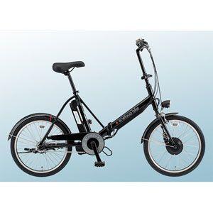 SANYO(サンヨー) 電動ハイブリッド自転車 エネループ CY-SPJ220-K 20インチ ブラック 【折り畳み自転車】 - 拡大画像