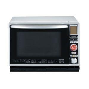 東芝 過熱水蒸気オーブンレンジ 30L ライトグレー TOSHIBA 石窯オーブン[ ER-H8-H ] - 拡大画像