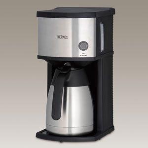 Thermos(サーモス) 真空断熱ポット コーヒーメーカー ECE-1000-SBK(サ-モス)