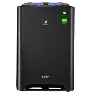 SHARP(シャープ) 加湿空気清浄機(空清21畳まで/加湿13畳まで ブラック系) 高濃度「プラズマクラスター7000」搭載 KC-Z45-B - 拡大画像