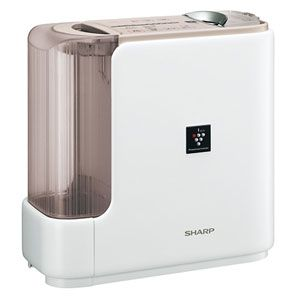 SHARP(シャープ) ハイブリッド式加湿器(木造11畳まで/プレハブ洋室18畳まで ベージュ系) プラズマクラスター搭載 HV-Z70CX-C