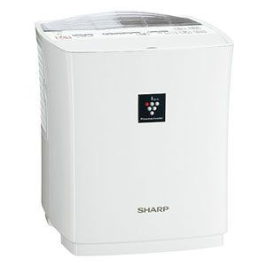 SHARP(シャープ) ハイブリッド式加湿器(木造5畳まで/プレハブ洋室8畳まで ホワイト系) プラズマクラスター搭載 HV-302-W