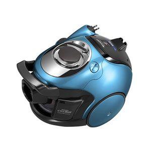 SHARP(シャープ) サイクロン式 パワーブラシクリーナー(メタリックブルー) 【掃除機】 プラズマクラスター遠心分離サイクロンX-CYCLONE EC-AX120-A