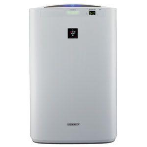 SHARP(シャープ) 加湿空気清浄機(空清18畳まで/加湿11畳まで ホワイト系) 高濃度「プラズマクラスター7000」搭載 KC-Z40-W - 拡大画像