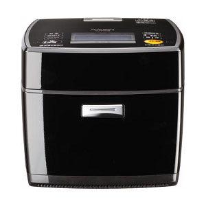 MITSUBISHI(三菱) IHジャー炊飯器(1升炊き) ピアノブラック 炭炊釜 NJ-V18J8-K - 拡大画像