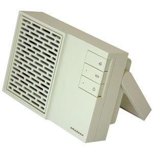 amadana(アマダナ) イオン式サイレント空気清浄機(10畳まで ホワイト) - 拡大画像
