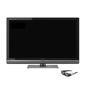 SHARP 46V型地上・BS・110度CSデジタルフルハイビジョン液晶テレビ AQUOS クアトロン3D[ LC-46LV3 ] (3Dテレビ)