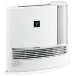 SHARP(シャープ) HX-129CX-C 加湿セラミックファンヒーター(ホワイト系) 【暖房器具】SHARP プラズマクラスター搭載