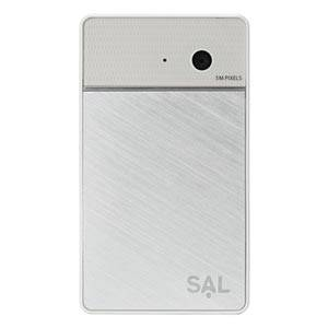 amadana(アマダナ) ポケットビデオカメラ「SAL」VC-242-WH ホワイト - 拡大画像