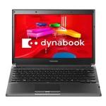 東芝 ノートパソコン Dynabook(ダイナブック) R730シリーズ PR73038ARJB ブラック 【Office H&B搭載】