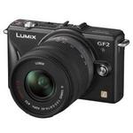 Panasonic(パナソニック) デジタル一眼カメラ ダブルレンズキット エスプリブラック DMC-GF2W-K