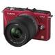 Panasonic(パナソニック) デジタル一眼カメラ ダブルレンズキット ファインレッド DMC-GF2W-R 写真1