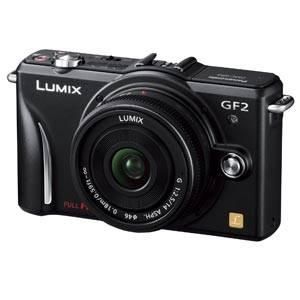 Panasonic(パナソニック) デジタル一眼カメラ レンズキット エスプリブラック DMC-GF2C-K