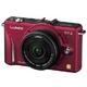 Panasonic(パナソニック) デジタル一眼カメラ レンズキット ファインレッド DMC-GF2C-R 写真1