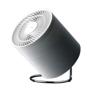 TWINBIRD(ツインバード) サーキュレーター IEZOK(いえ族) KJ-EK01-W ホワイト系 【扇風機】