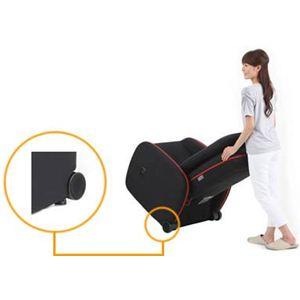 フジ医療器 マッサージチェア KEN OKUYAMAモデル KN-15BK ブラック
