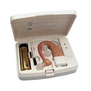 充電式耳掛け型集音器イヤーチャージ ミミカケ UP-64B(DETO) - 拡大画像