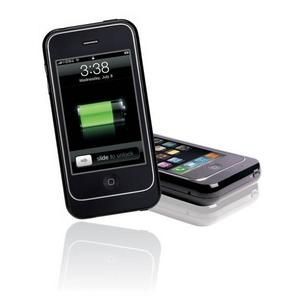 Q-Power i-phone用充電池付きケース ブラック