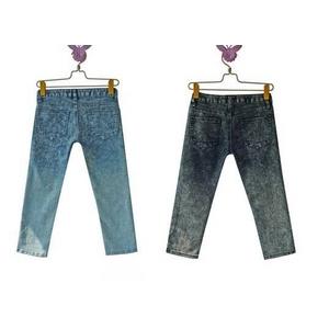 ファッション人気パンツ★ブルー/Mサイズ