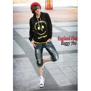 ファッション人気七分丈パンツ★Lサイズ