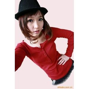 超かわファッション人気Tシャツ★レッド