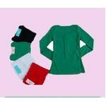 【大きいサイズ レディース】超かわファッション人気Tシャツ★グリーン