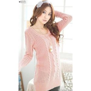 超かわシンプル人気セーター★ピンク