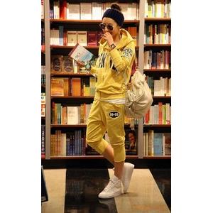 ファッション人気ルーズスポーツウェア★イエロー