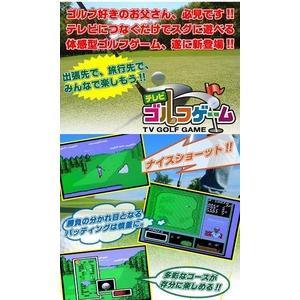 体感型 テレビゴルフゲーム!