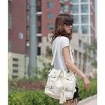ファッション人気かばん★肩がけ(斜めがけ)バッグ☆ホワイト色