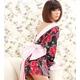 超セクシー☆花柄着物コスチューム5点セット コスプレ - 縮小画像2