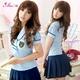 コスプレ 背中セクシー女子高生制服コスチューム フリーサイズ - 縮小画像1