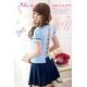 コスプレ 背中セクシー女子高生制服コスチューム フリーサイズ - 縮小画像2