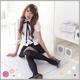 2010年新作カチューシャ付☆女子高生制服コスチューム3点セット コスプレ - 縮小画像1